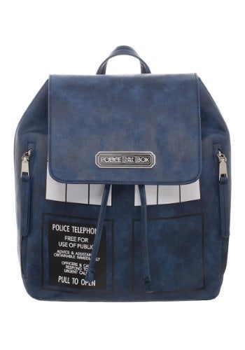 Bioworld Doctor Who Tardis Backpack