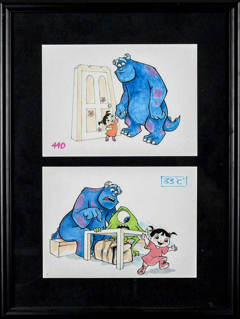 Monsters Inc Storyboard 1