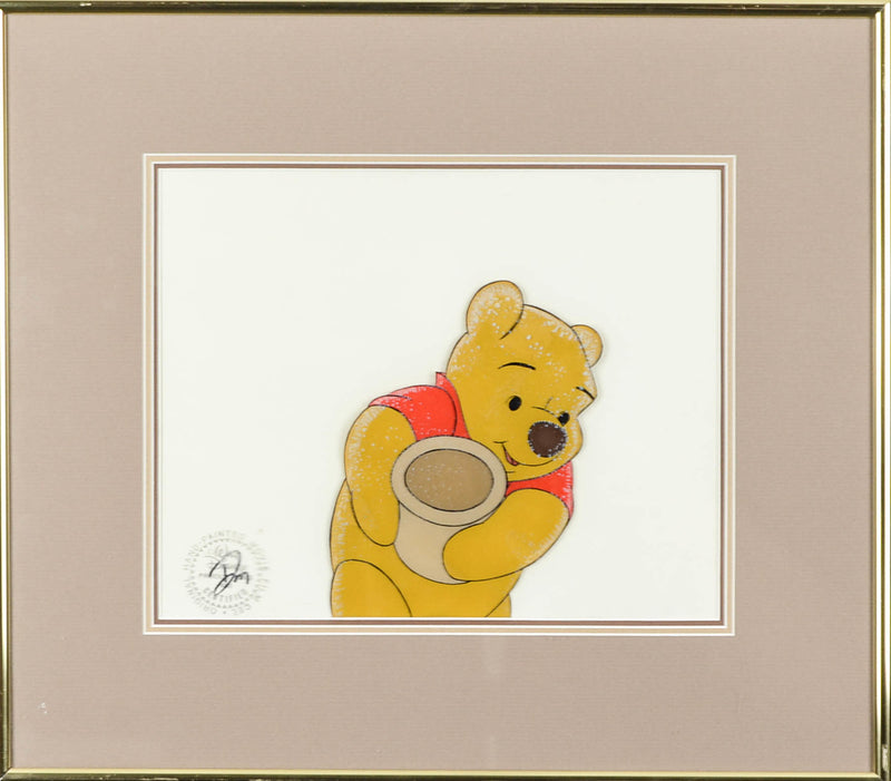 Winnie the Pooh and The Honey Pot Cel
