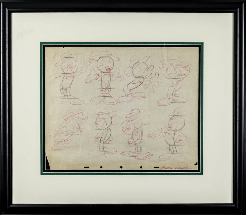 Mickey Mouse Model Sheet