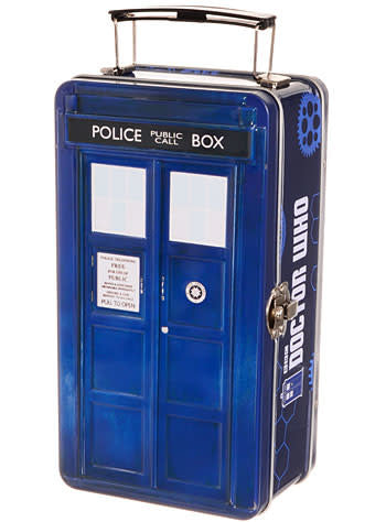 Doctor Who Tardis Lunch Tin