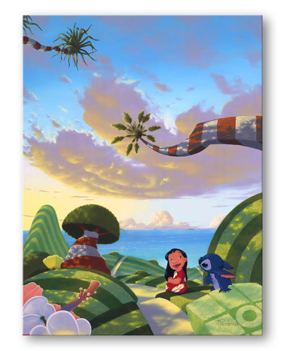 A Tropical Idea - Disney Treasure On Canvas