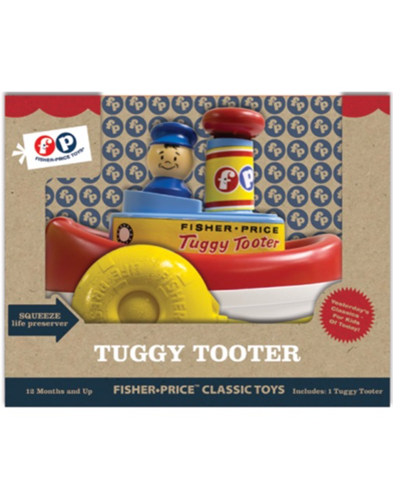 Fisher-Price Tuggy Tooter Toy