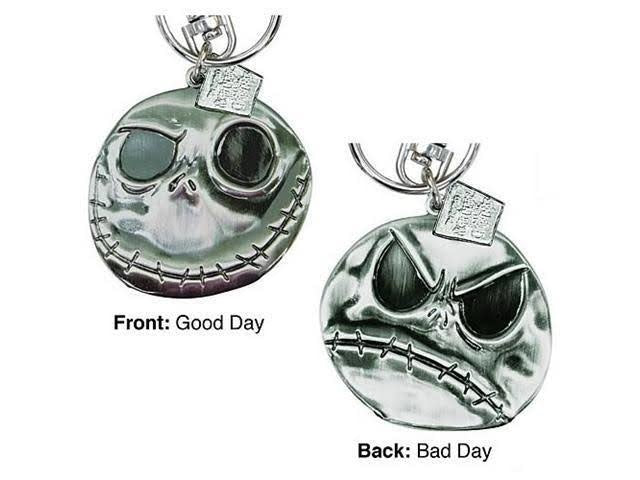 Jack Good/Bad Day Keychain