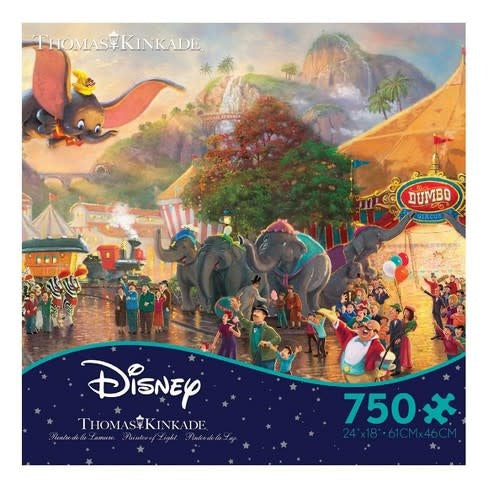Disney Thomas Kinkad Dumbo Puzzle 750pc