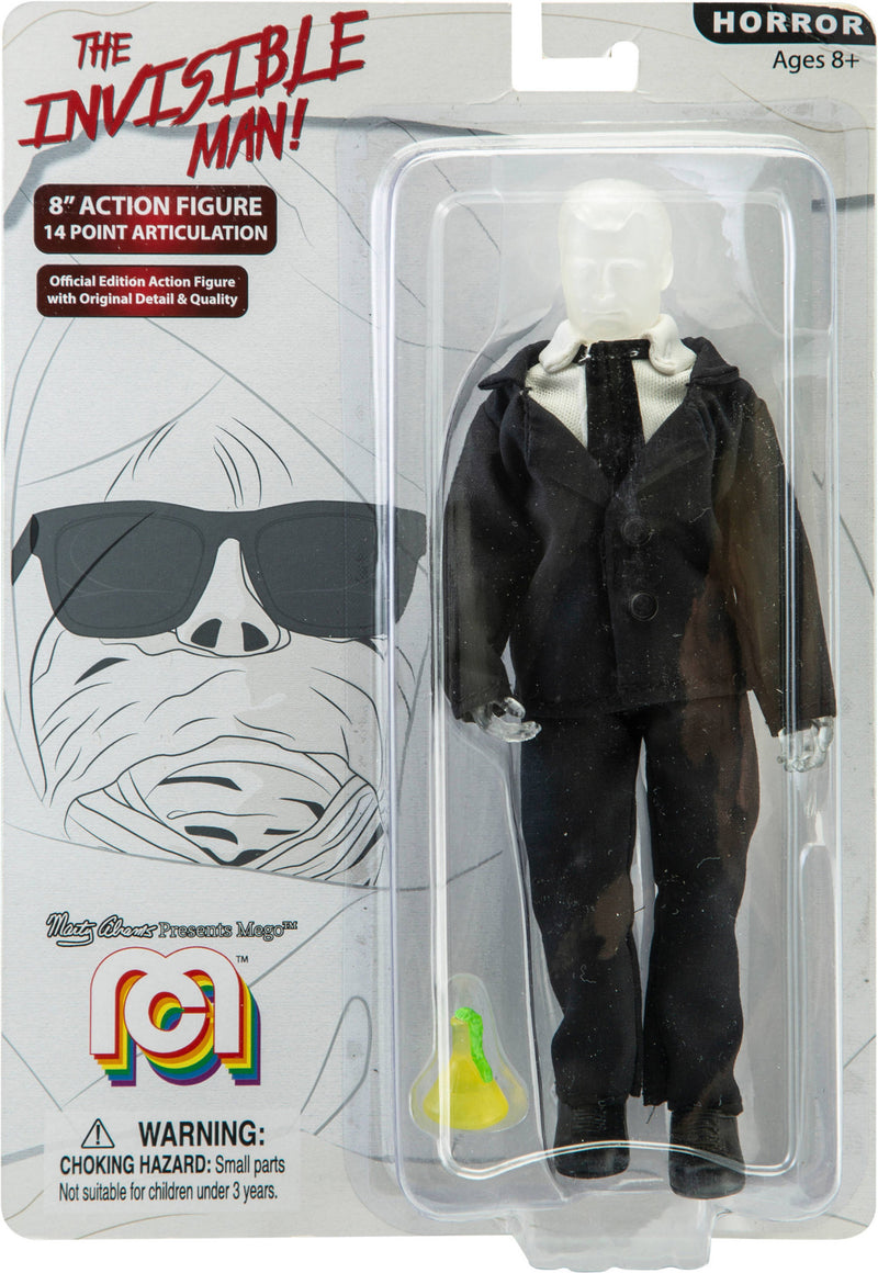 Mego: The Invisible Man
