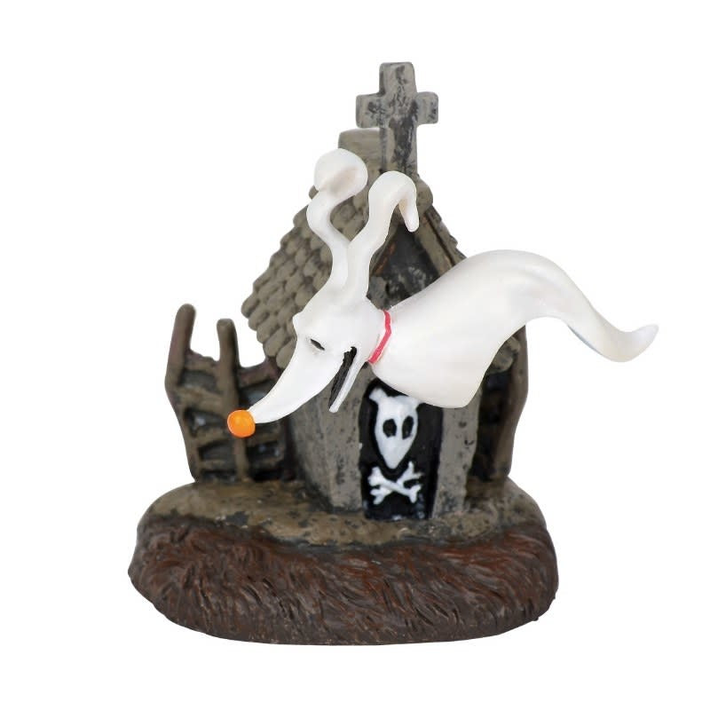 Department 56 The Nightmare Before Christmas Village Zero and His Dog House Figure