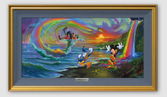 Mickey and the Boys at Rainbow Falls-Silver Limited
