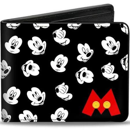 Mickey Hands Bi-Fold Wallet