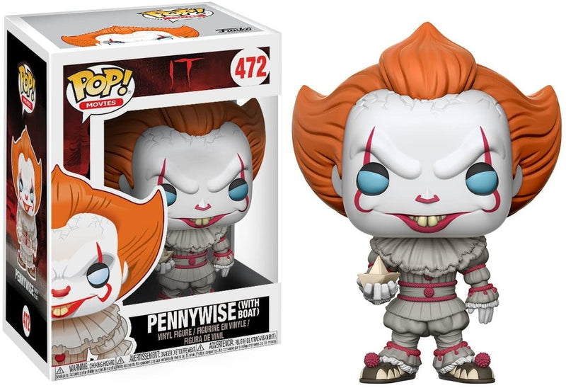 Pennywise With Boat Pop! Figure