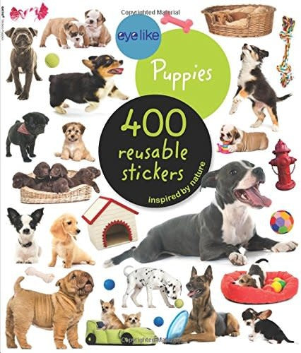 Eye Like Puppies Sticker Book