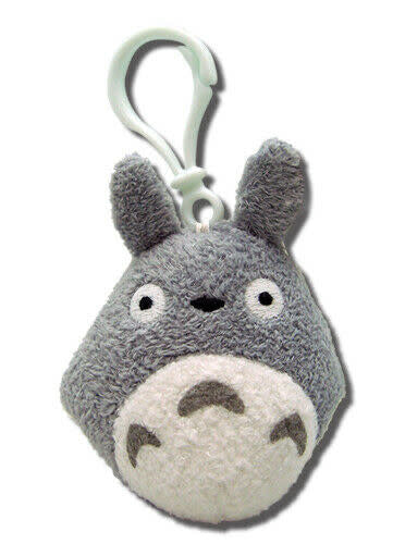 "Totoro 3"" Plush Doll with Backpack Clip"