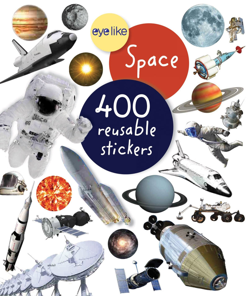 Eye Like Space Sticker Book