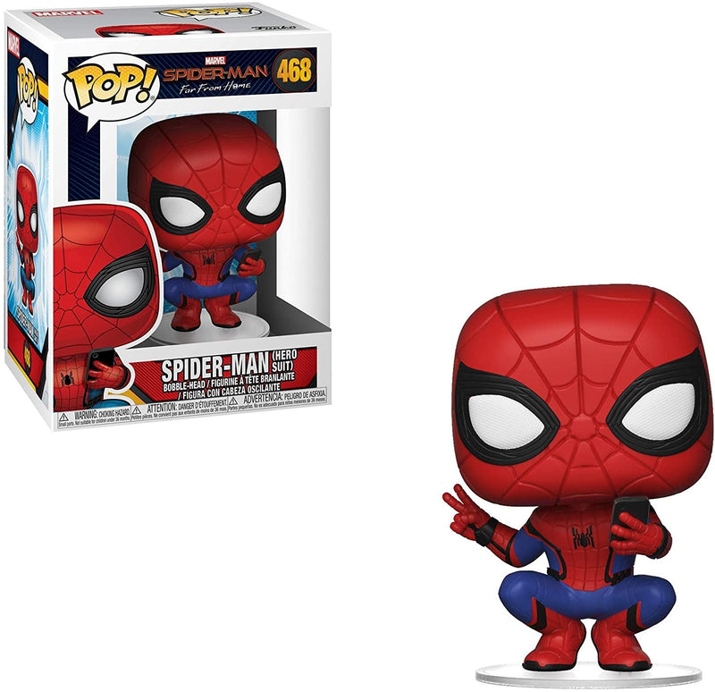 Spider-Man Hero Suit Pop! Figure