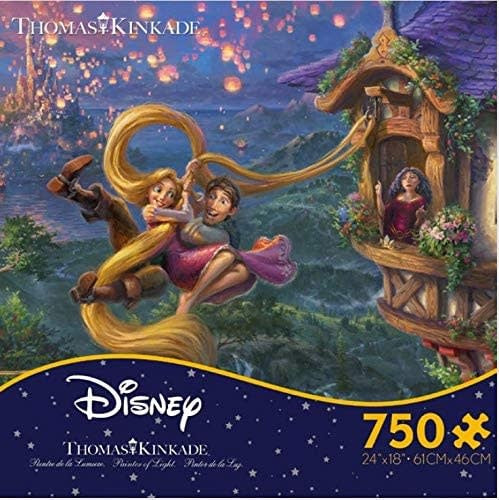 Thomas Kinkade Tangled 750 Pc Puzzle