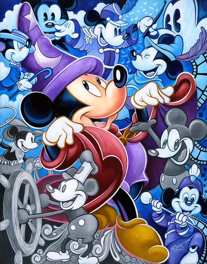 Celebrate The Mouse - Disney Treasure On Canvas