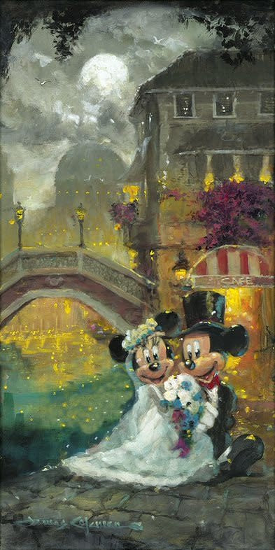 Happy Together -  Disney Treasure On Canvas