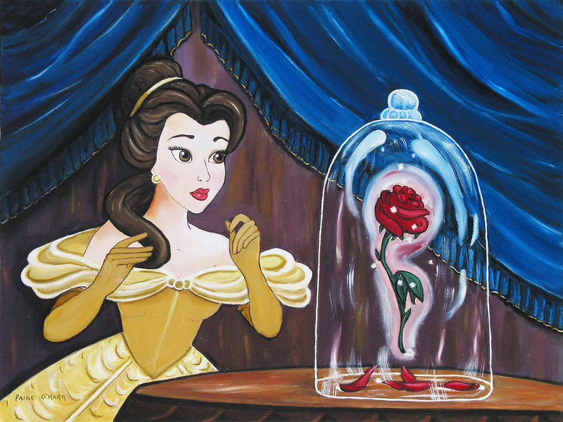 Enchanted Rose - Disney Treasure On Canvas