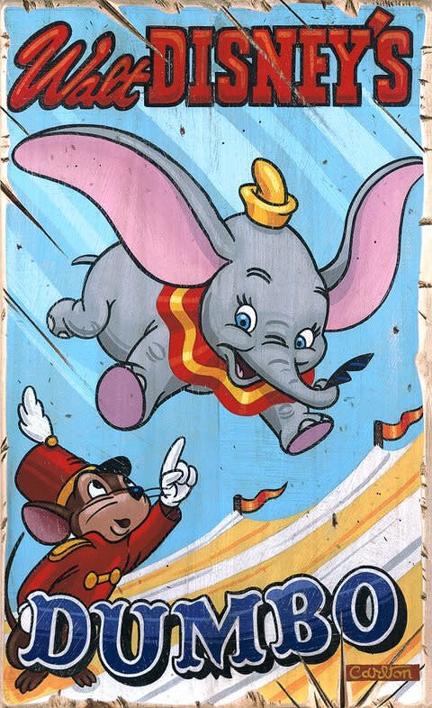 High Flying Family -  Disney Treasure On Canvas