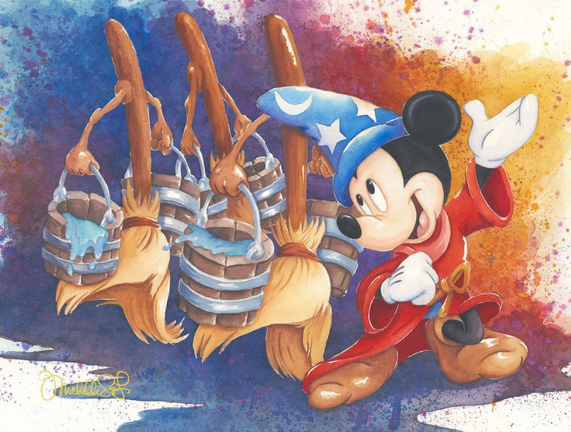 Magical March -  Disney Treasure On Canvas