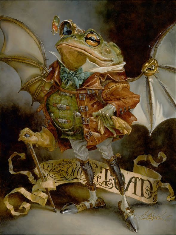 The Insatiable Mr. Toad -  Disney Treasure On Canvas
