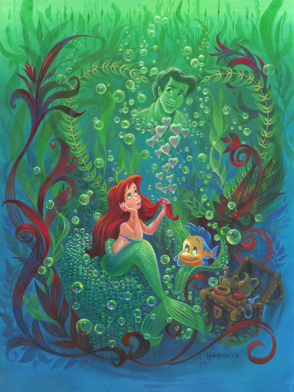 Forever In My Heart - Disney Treasure On Canvas
