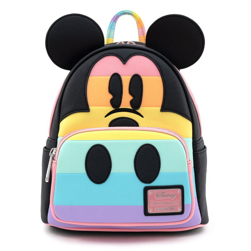 Loungefly Mickey Rainbow Mini Backpack