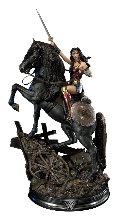Wonder Woman on Horseback Statue