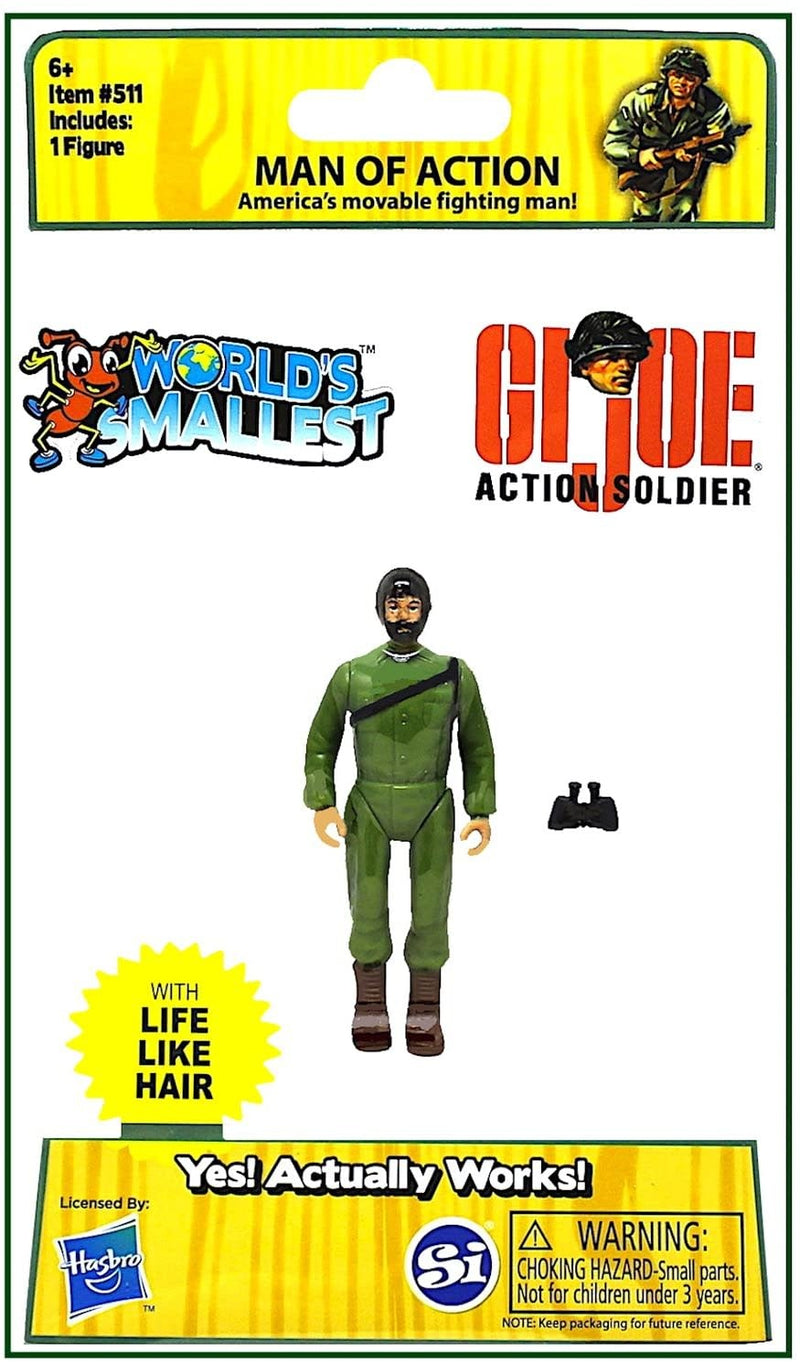 World's Smallest GI Joe 3""