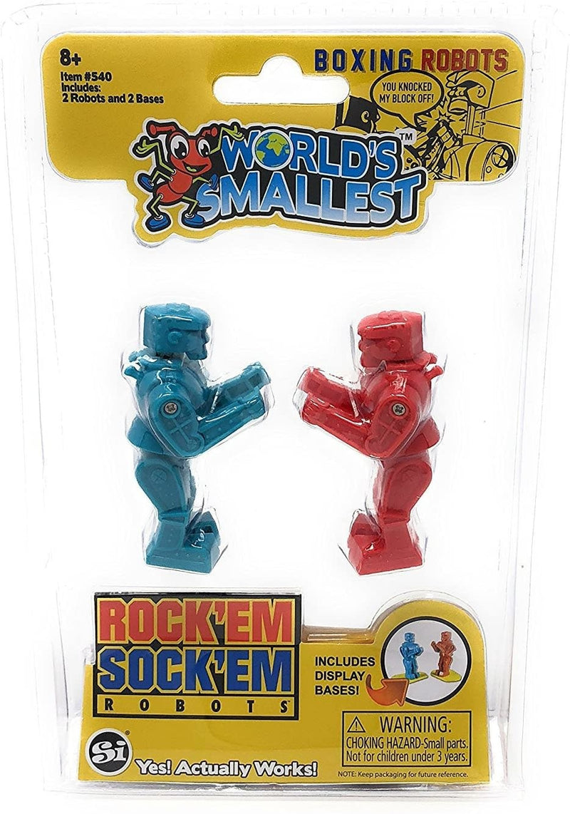 World's Smallest Rock'Em Sock'Em Robots 3""