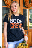 Boo Crew (Black Fleck) - Short Sleeve / Crew