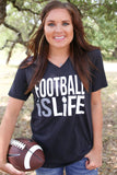Football is Life - Black - SS