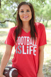 Football is Life - Red - SS