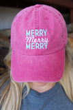 Cap - Merry Merry Merry (Heather Red)