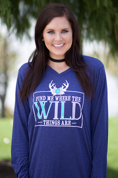 Find Me Where the Wild Things Are - Long Sleeve