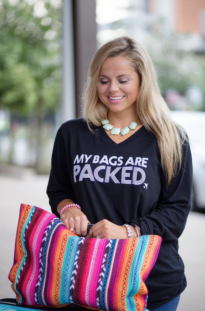 My Bags are Packed - Long Sleeve