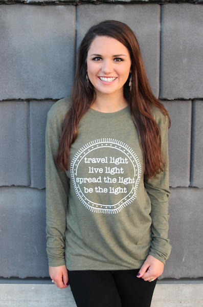 Travel Light - Long Sleeve
