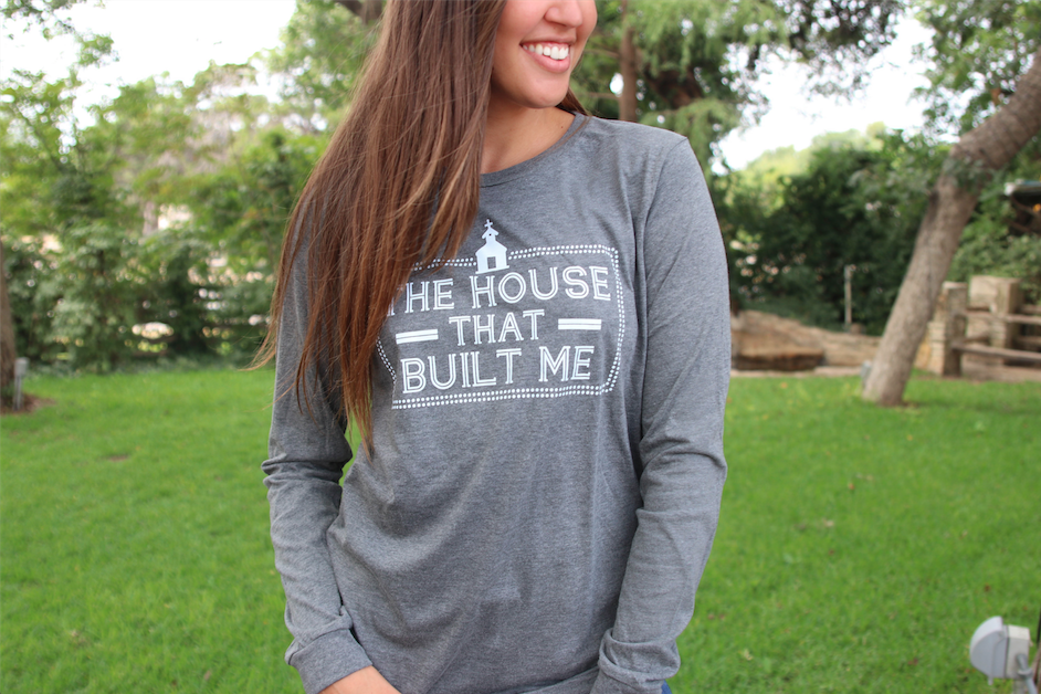 The House That Built Me - Deep Heather - Long Sleeve