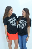 Shake Your Boo Thang (Black Fleck) - Short Sleeve