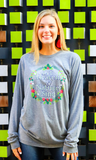 Heaven & Nature Sing (Grey Triblend) - Long Sleeve / Crew