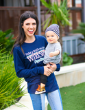 Walk On The Wild Side (Navy) - Long Sleeve / Crew