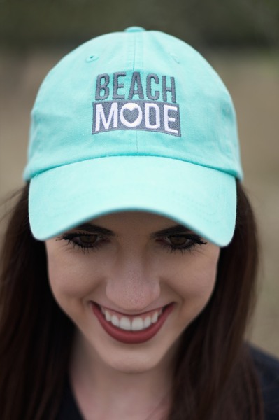 Cap - Beach Mode - Sea Foam
