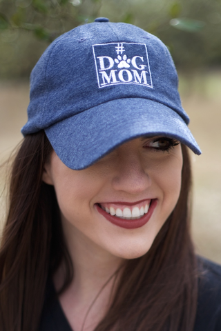 Cap - Dog Mom - Navy