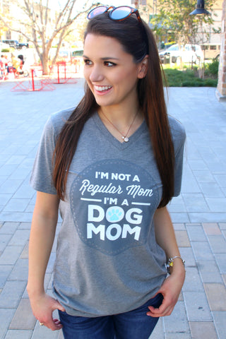 Regular Mom (Grey) - SHORT Sleeve