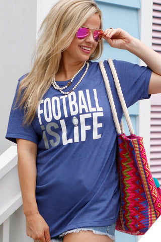 Football is Life - Blue - SS