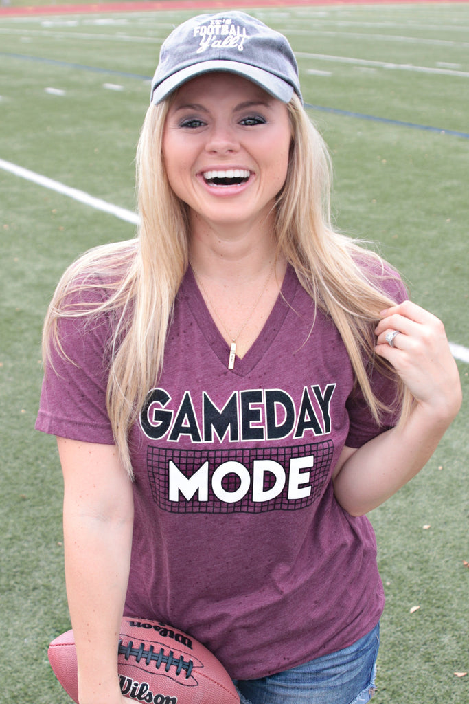 Gameday Mode (Maroon) - Short Sleeve