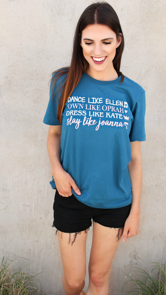 Love Me Like McDreamy (Heather Mauve) - Short Sleeve