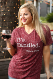 It's Handled - V-Neck - SS
