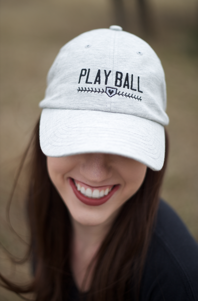 Cap - Play Ball - Light Grey