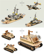 Load image into Gallery viewer, Tank Building Blocks Toys - sindbad toys